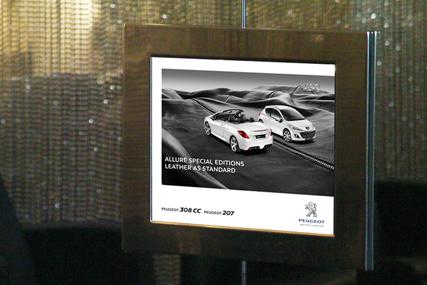 Salon TV: promotes Peugeot's female-focused ad campaign