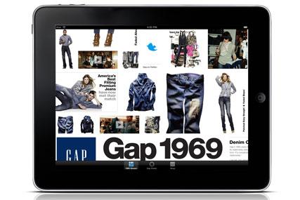 Gap rolls out iPad e-commerce app