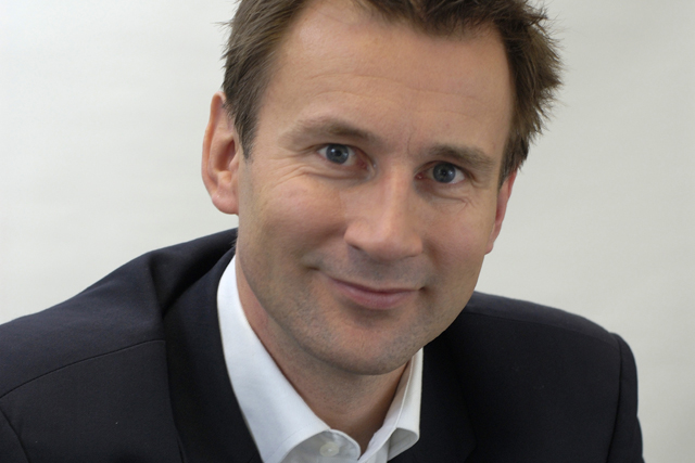 Jeremy Hunt: the culture, media, sport and Olympics secretary