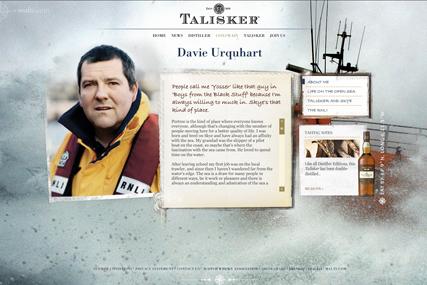 Talisker…website focused on distillery workers