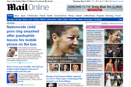 MailOnline passes 40 million browsers