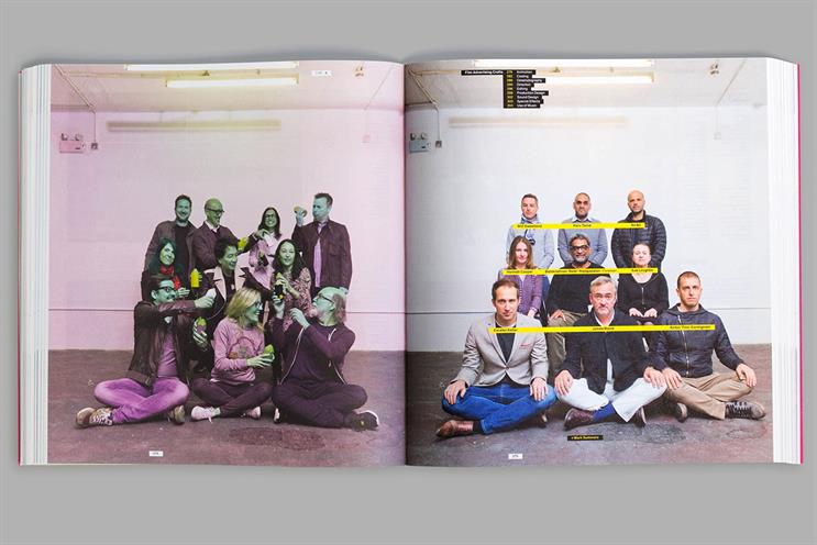 D&AD Annual 2016: the school-style jury photos continue the educational theme