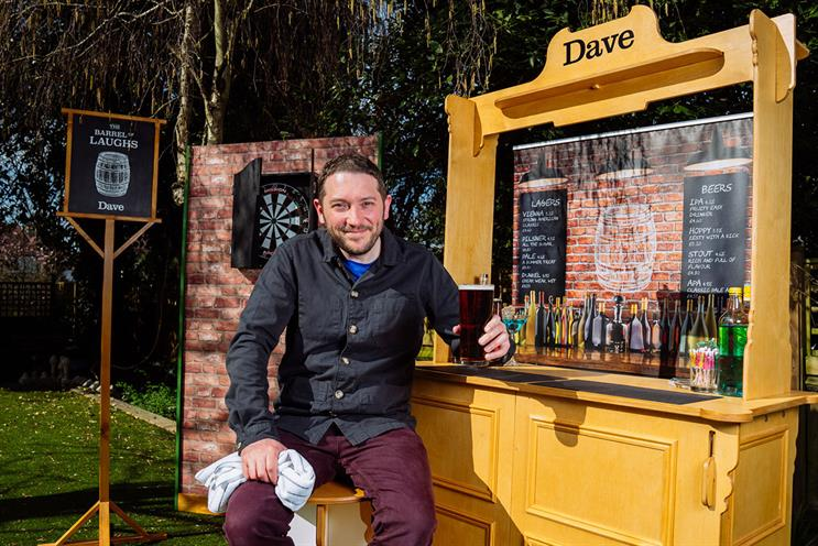 Dave: assembly video features comedian Jon Richardson