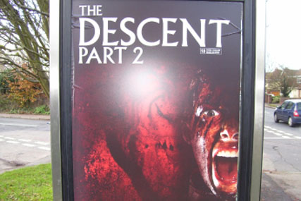 The Descent Part 2: poster breached ASA codes