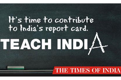 Teach India...winning campaign from JWT Mumbai