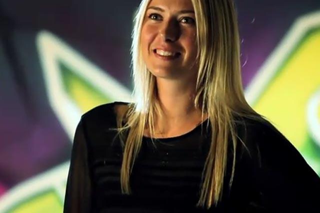 Maria Sharapova: launches Xperia Hot Shots online video