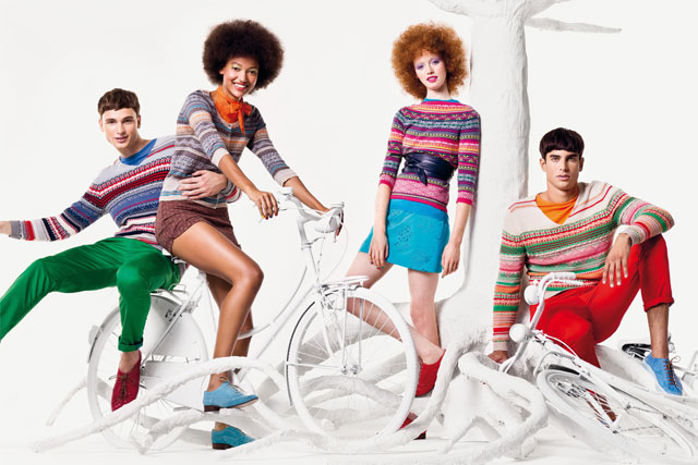 Benetton: spring 2012 campaign