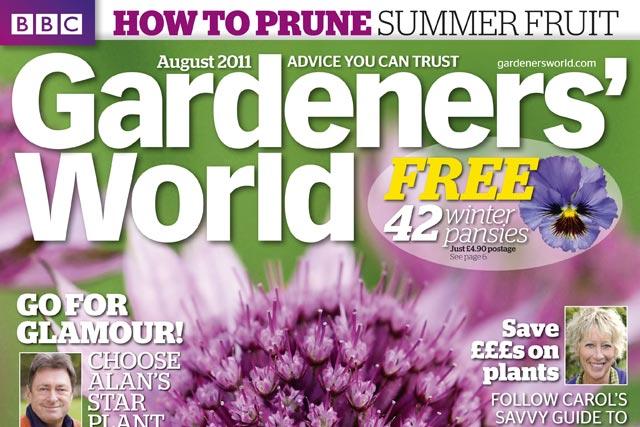 BBC Gardeners' World: circulation increase follows March redesign