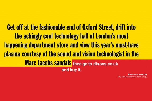 Dixons: campaign won Grand Prix for M&C Saatchi