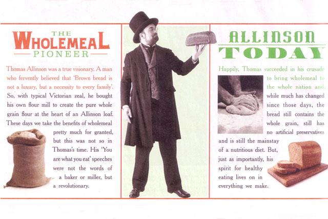 Allinson: bread ad escapes ban