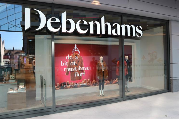 Debenhams: appointments are tailored to consumers needs