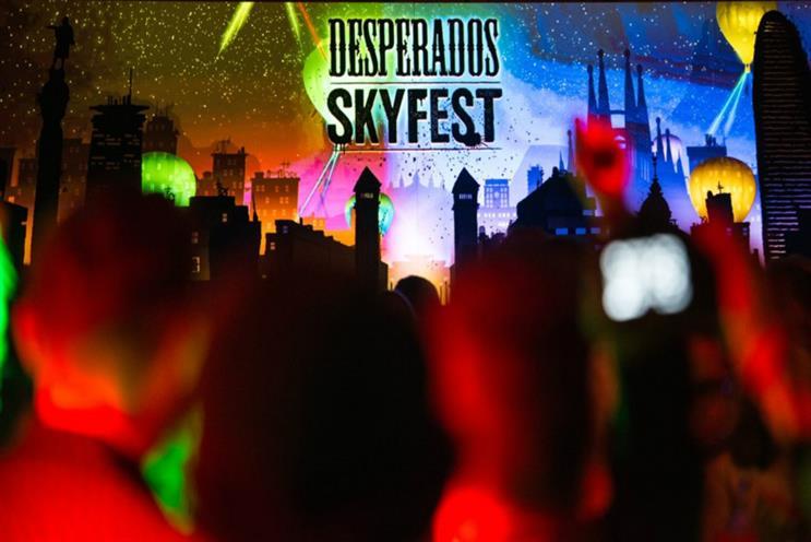 Sky high: The Desperados SkyFest