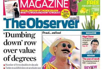 The Observer... future under review