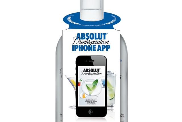 Absolut embraces QR technology for app push