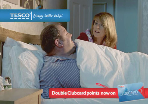 Tesco had 40 Adwatch mentions this year