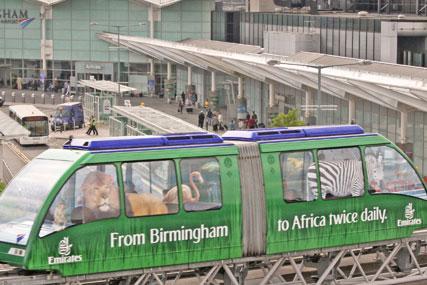 Emirates outdoor push at Birmingham International