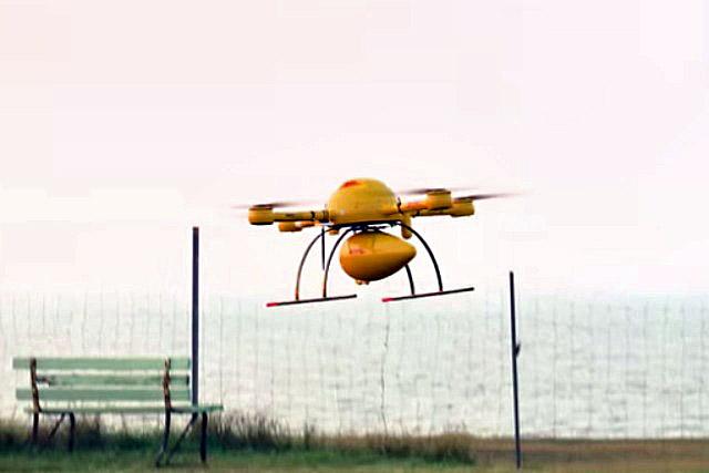 DHL: set to deliver medicines via drone