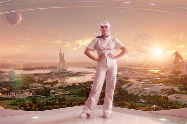 H&M: Avatar Maisie appears in the project's launch film
