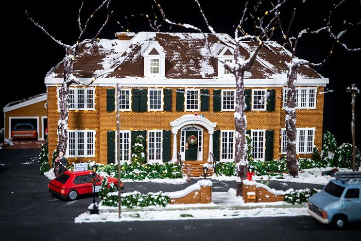 Disney+: gingerbread 'Home Alone' house