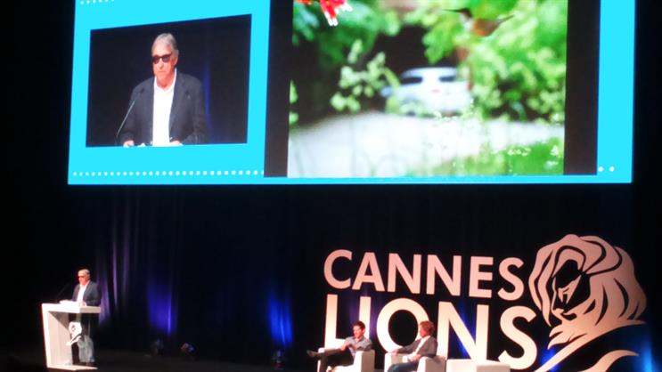 Chuck Porter (left): told the audience at Cannes Lions, 'Everyone and their brother makes apps now'