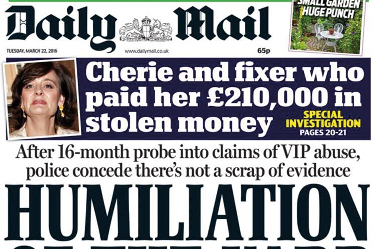 Daily Mail owner reports 7% drop in pre-tax profit