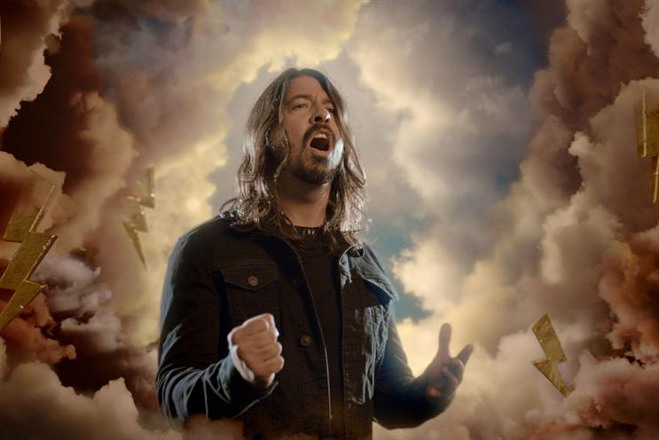 Dave Grohl: Foo Fighters frontman stars in the BBC campaign