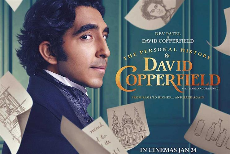 The Personal History of David Copperfield: Lionsgate film