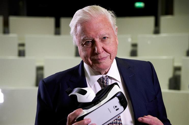 Sir David Attenborough narrates the virtual reality experience, First Life