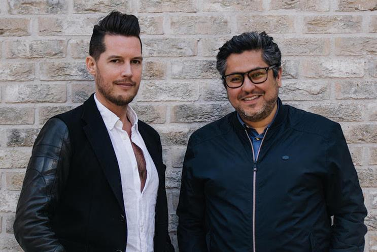 David Frymann (l) with Beyond Collective CEO Zaid Al-Zaidy