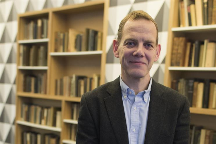David Grainger: the new chief strategy officer at M/SIX
