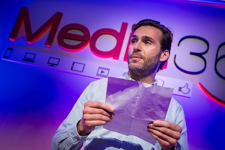 Channel 4 creative head David Amodio's winning Media360 poems