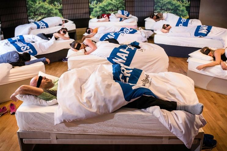 David Lloyd launches sleep-themed fitness class