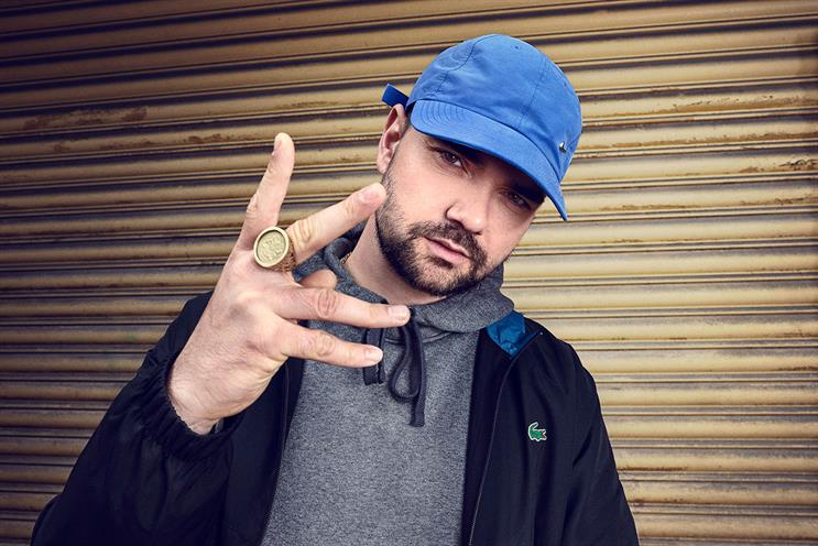 MC Grindah: played by Mustafa