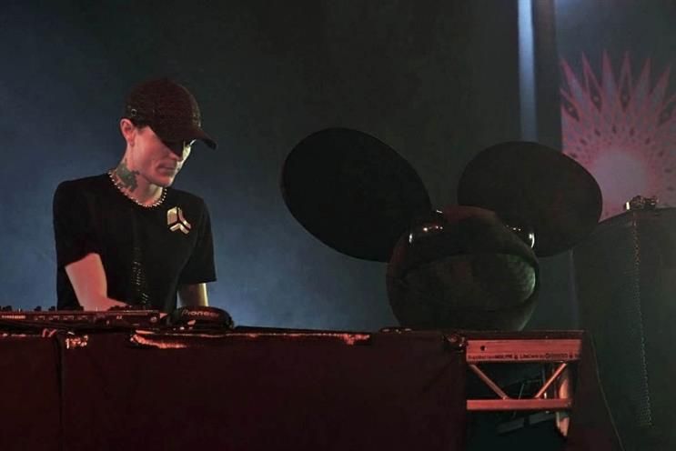 Deadmau5: at Glastonbury (picture credit: Haydn Curtis)