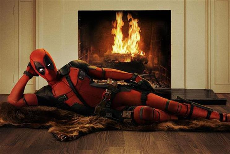 Deadpool: tops the UK box office for 2016 so far