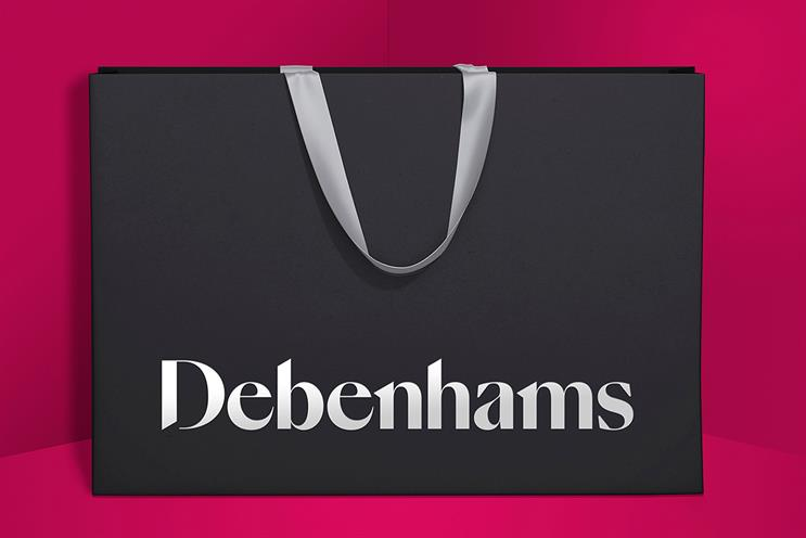 Debenhams gets a modern facelift in campaign to make shopping 'joyous' again