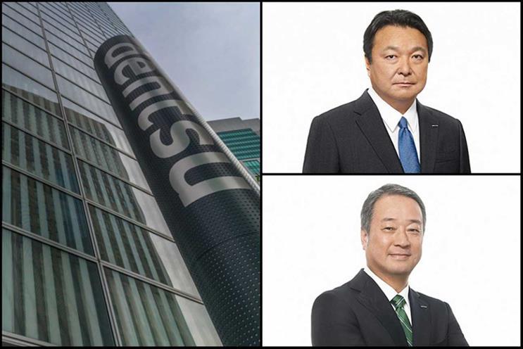 Dentsu: Yamamoto (top) and Igarashi