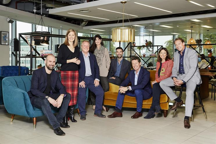 Dentsu Aegis: Hook, Sewell, Platts, Tallon, Connelly, Calcraft, Howe and Romijn