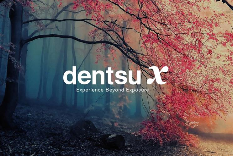 Dentsu X: absorbing three agency brands