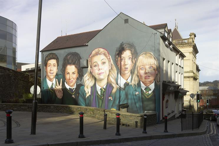 Channel 4 partners non-profit arts group to promote Derry Girls