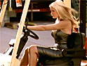 Caprice steals forklift truck in new Diet Coke promotion