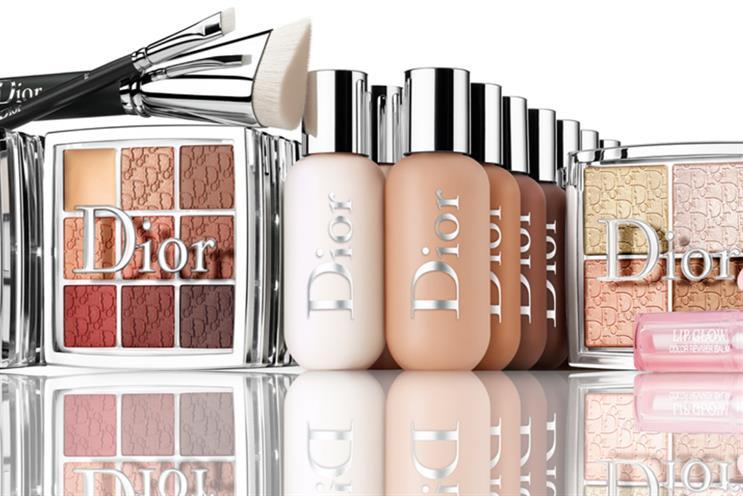 Dior: pop-up promotes latest range