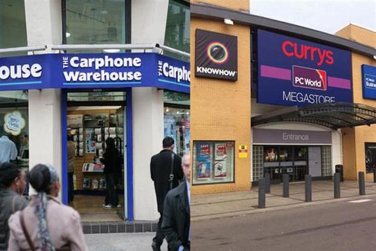 Dixons Carphone reports 7% Christmas sales boost and credits