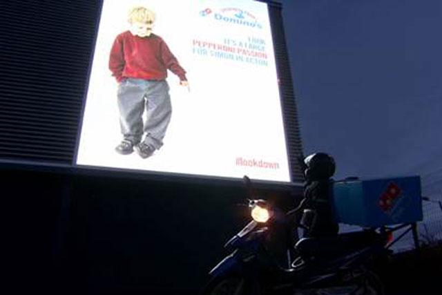 Dominoes: runs 'look down' campaign