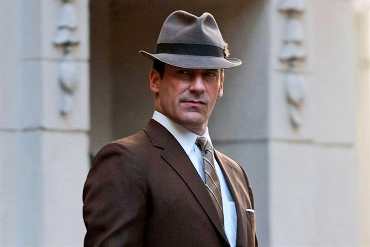 Don Draper: are modern agencies trying to get away from Mad Men era? (Getty Images)