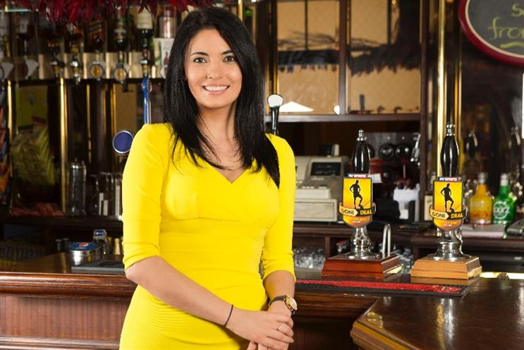 Natalie Sawyer: the Sky Sports News HQ presenter fronts campaign for Done Deal