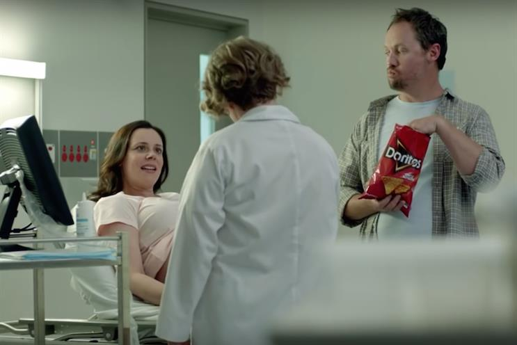 Super Bowl advertisers included Doritos