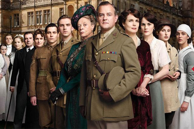 Downton Abbey: award-winning ITV show