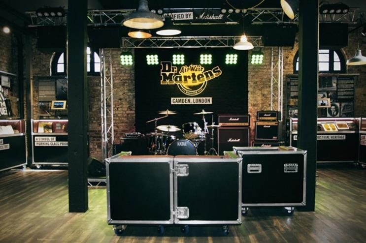 cd1f89d4e6 Dr Martens opens experiential flagship store in Camden