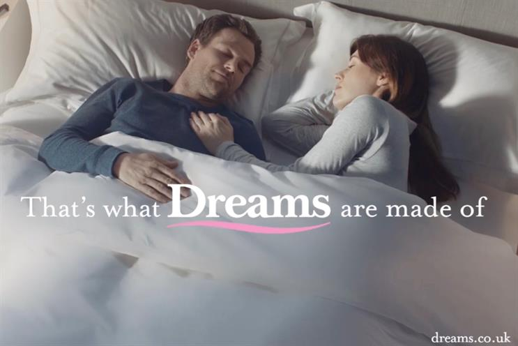 Dreams: M&C Saatchi previously worked on account